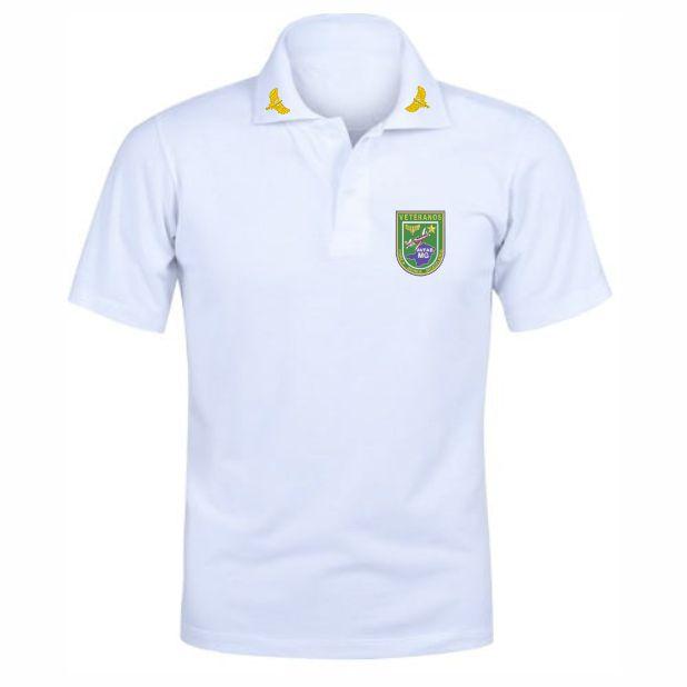 Camisa Polo Branca AVFAB-MG