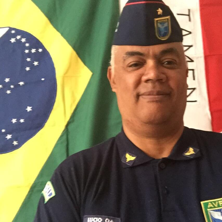 Lúcio Presidente Oficial da AVFAB-MG