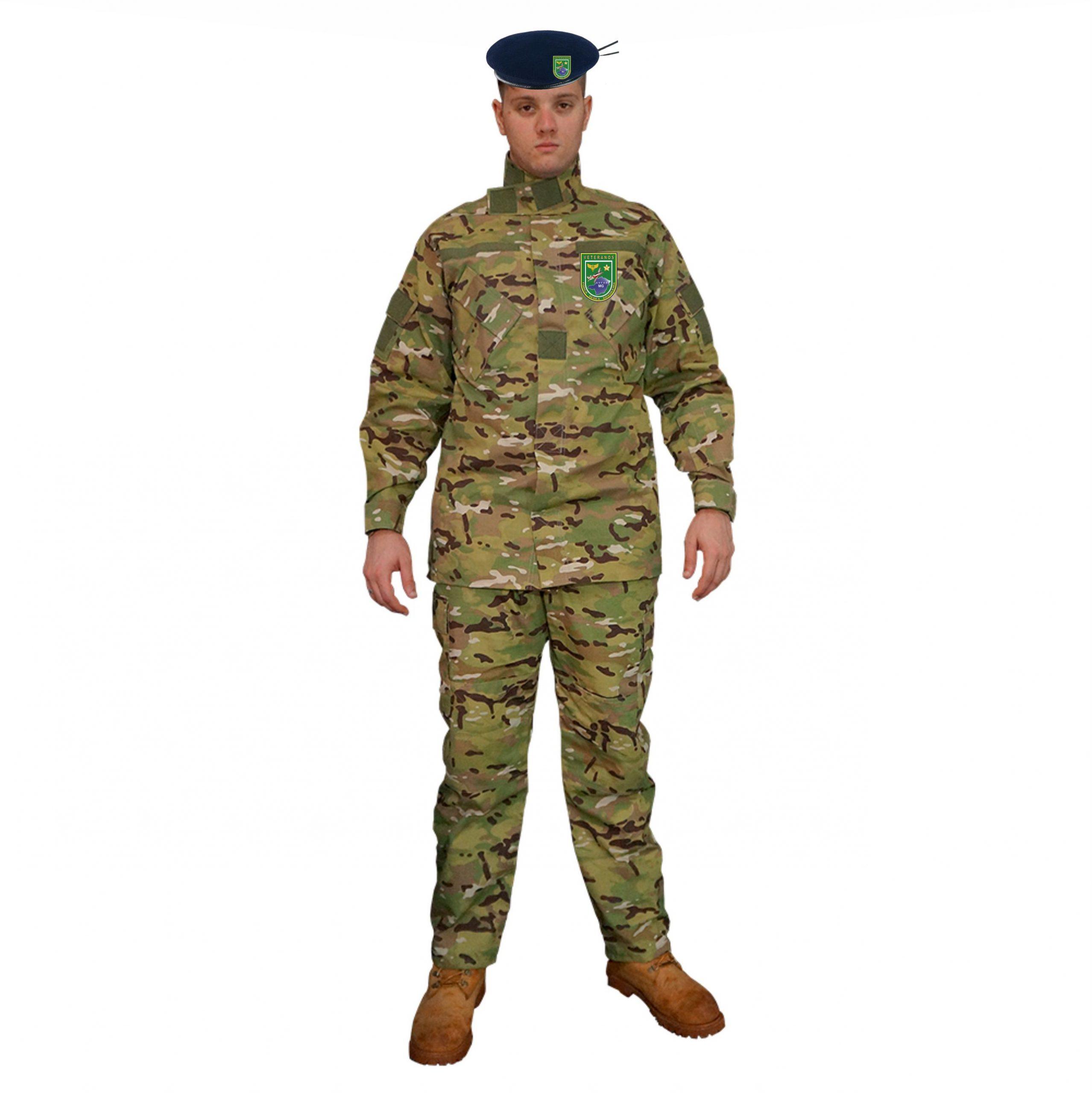 Novo Uniforme Camuflado